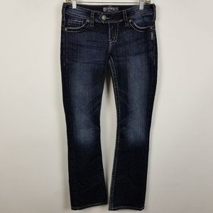 Silver Tuesday 16 1/2 Slim Boot Cut Jeans 27x31